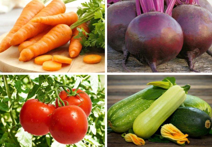 Овощи и фрукты для нутрий