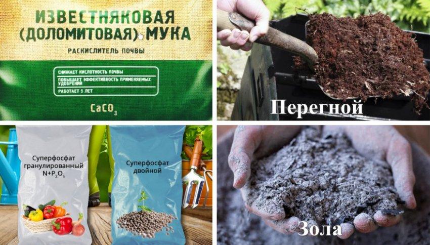 Удобрения для почвы