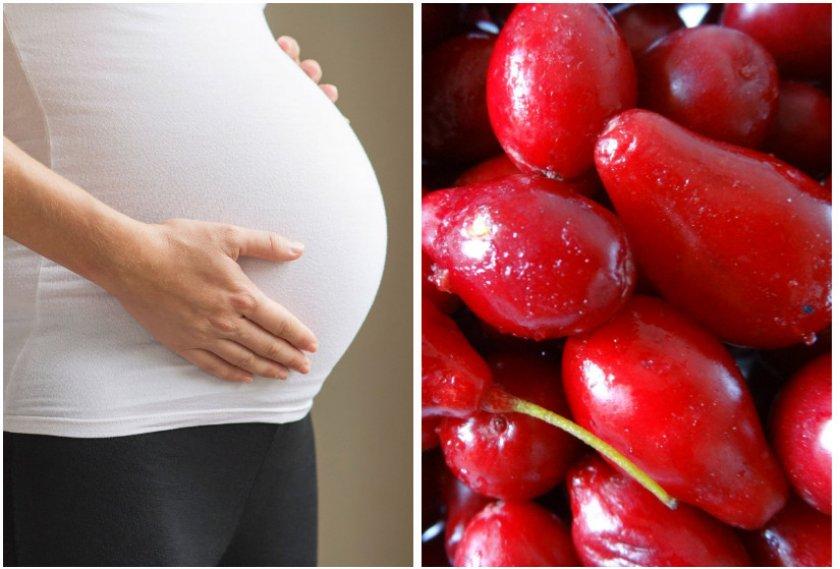 Кизил при беремености
