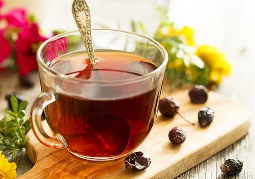 Как заварить чай из плодов шиповника