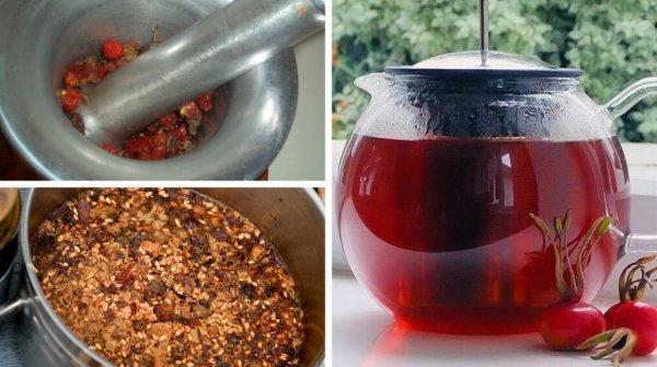 чай шиповника польза для детей