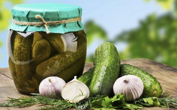 Полезные и вкусные маринованые огурцы