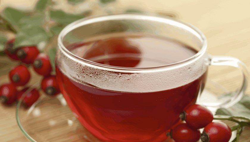 Морс из свежих ягод шиповника