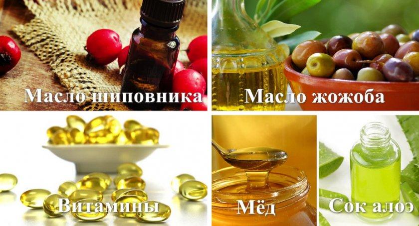 Приготовление витаминной маски