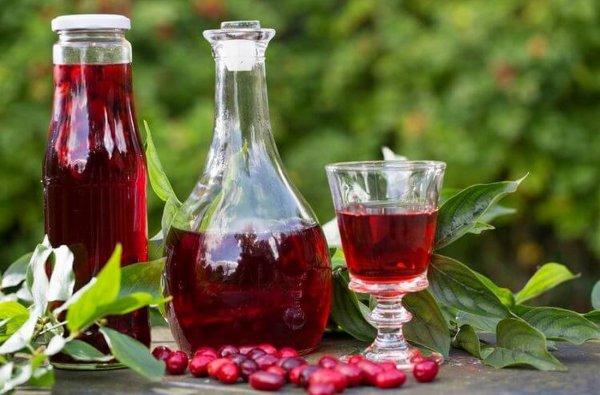 Кизиловое вино в домашних условиях 2 пошаговых рецепта приготовления