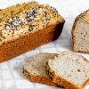 Первый вариант. Кето хлеб на оливковом масле