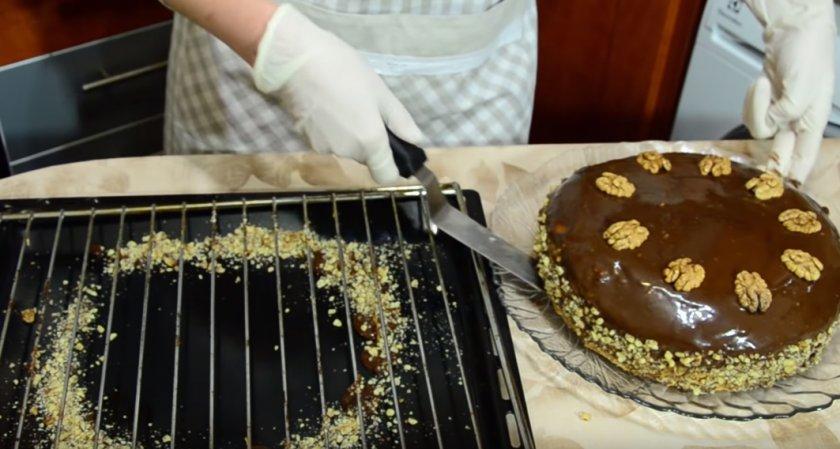 Торт с грецкими орехами название