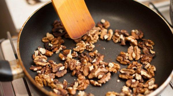 Грецкий орех в духовке время
