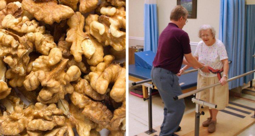 Орех при востановлении после болезней