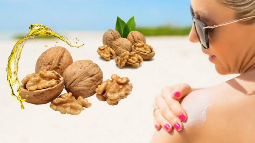 Орех для улучшения состояния кожи, волос и ногтей
