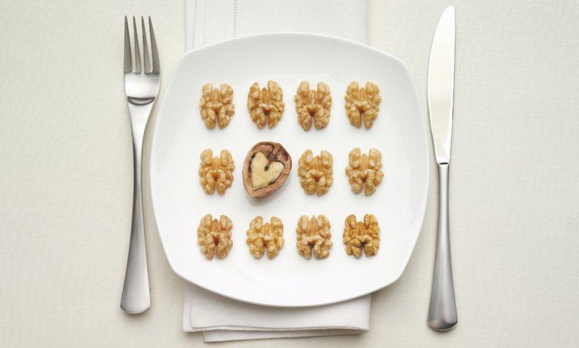 Грецкий орех при диете