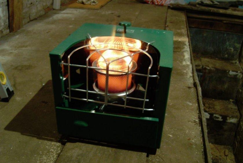 Дизельная печь в курятнике