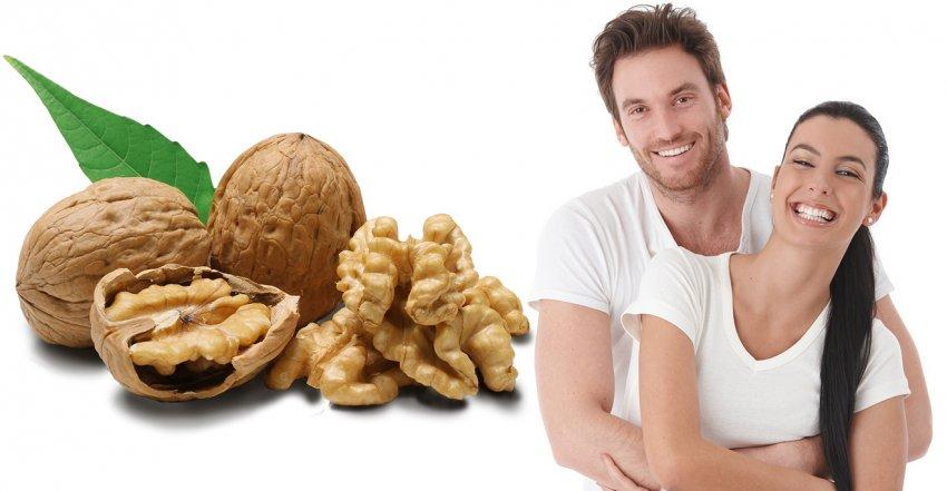 Грецкие орехи для мужского здоровья
