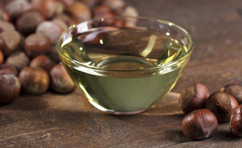 Ореховое масло из фундука