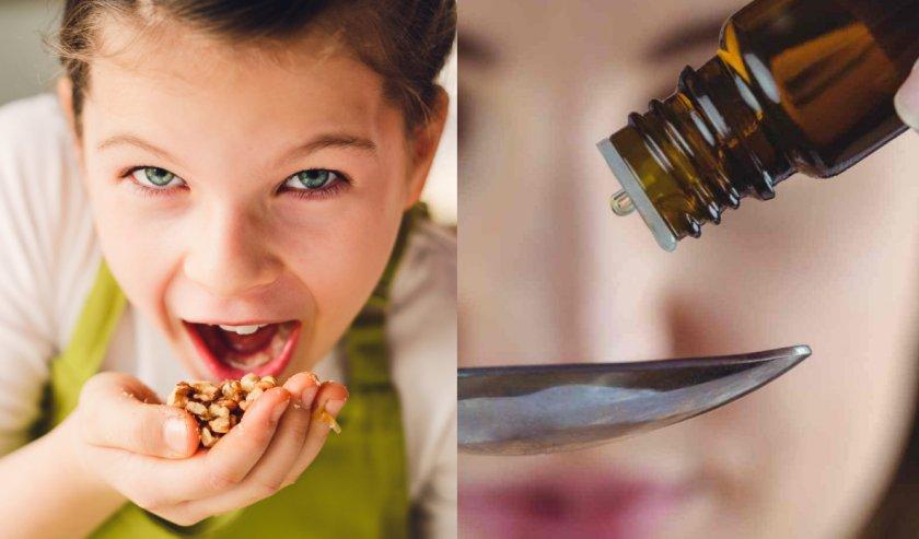 Чёрный орех для детей