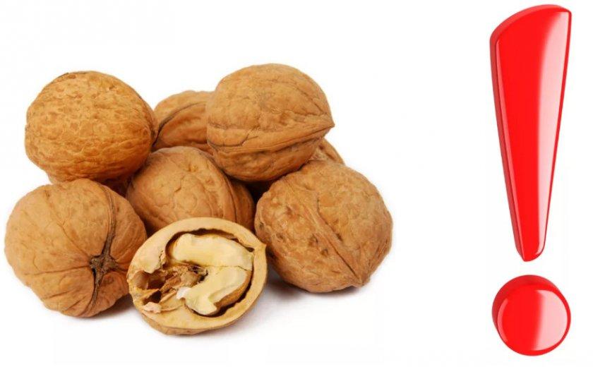 Противопоказания орехов