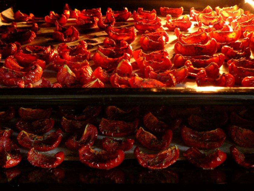 Сушёные томаты в духовке