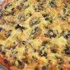 Рецепт пиццы с шампиньонами и сыром