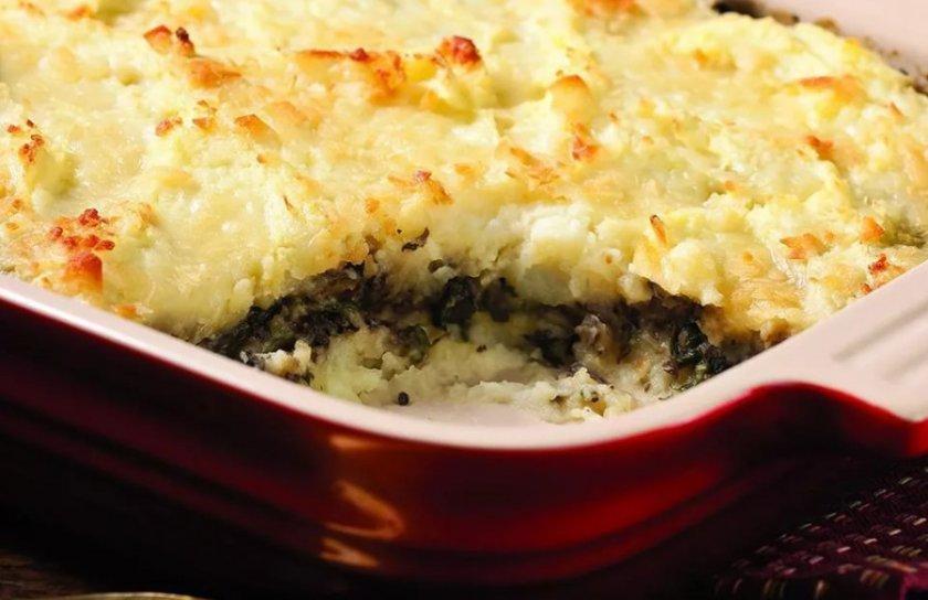 Картофельная запеканка с грибами и сыром: диетический вариант