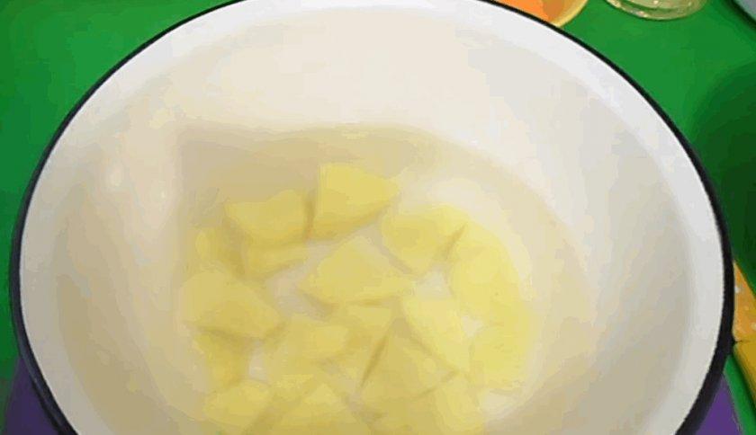 Суп из опят замороженных рецепт