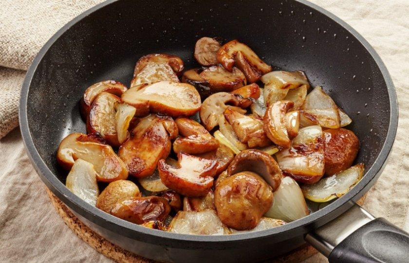 Приготовление блюда из боровиков