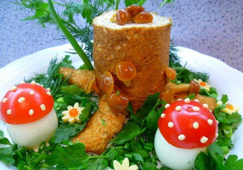 семья салат пенек рецепт с фото пошаговый фотографы все