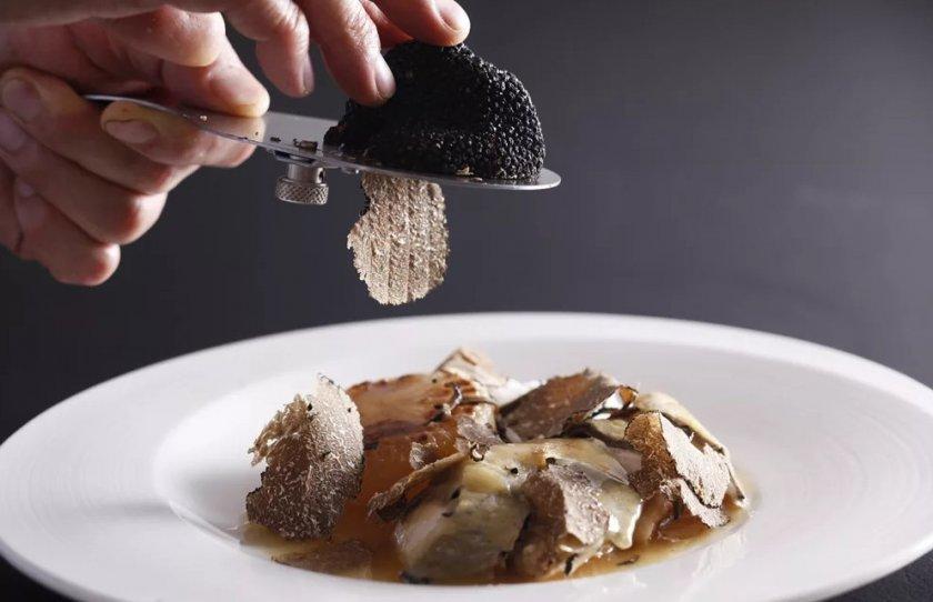Блюдо с трюфелями