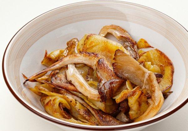 Можно ли жарить вешенки с картошкой