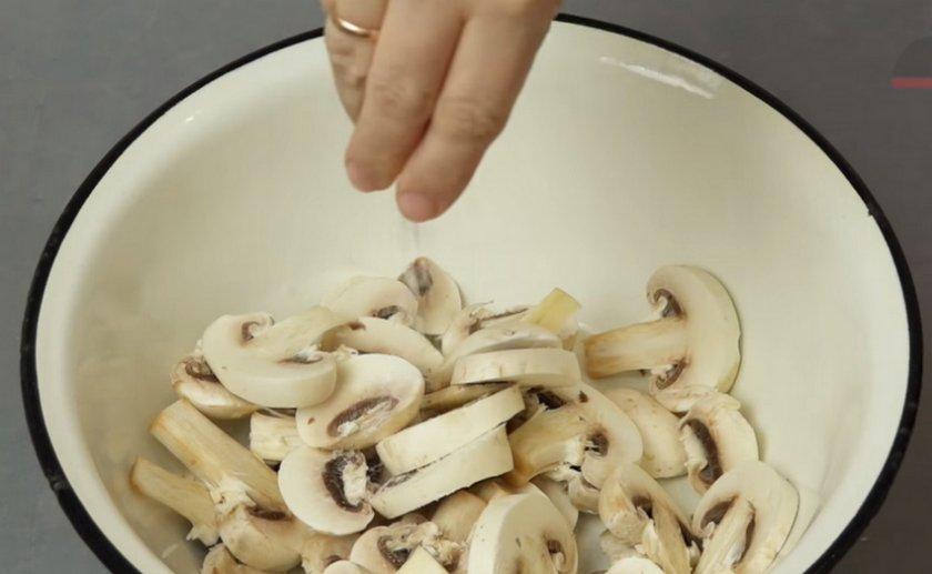 Как жарить грибы шампиньоны, как правильно приготовить, рецепты и пошаговые инструкции с фото, БЖУ
