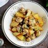 Картофель с грибами в сметане в мультиварке рецепт с фото