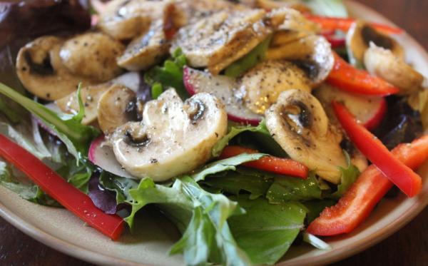 Диетические блюда с грибами шампиньонами