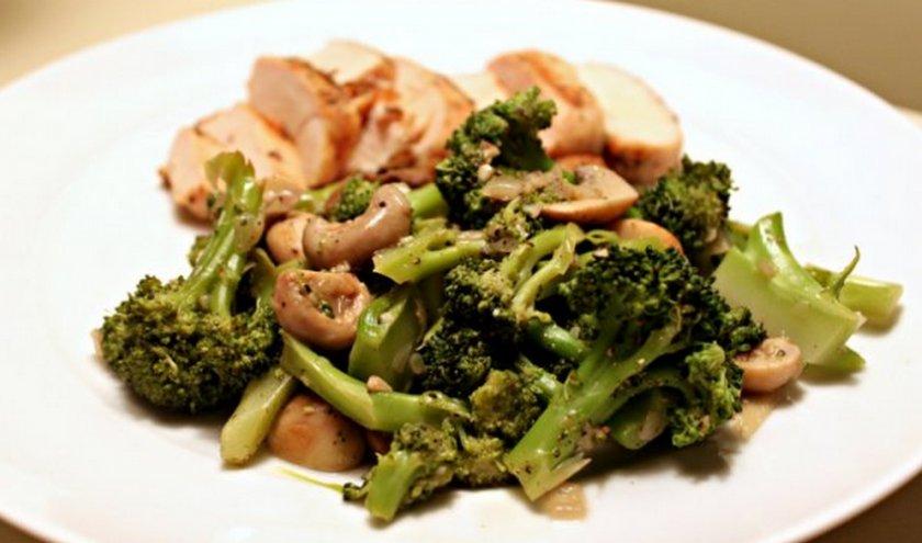 Фаршированные грибы диетические блюда правильное питание