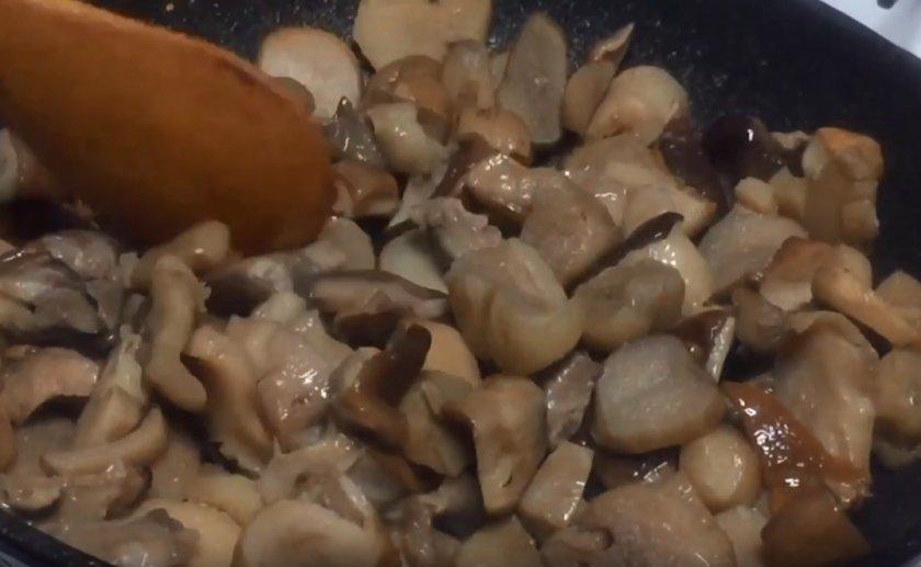 Приготовление белых грибов замороженных