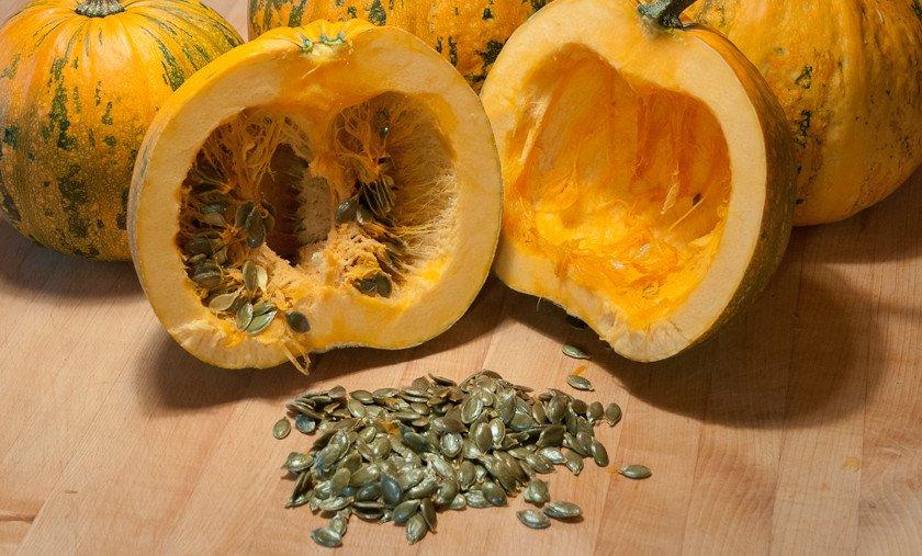 Семечки голосемянной тыквы