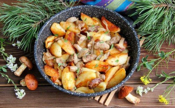 Как готовить маслята для жарки с картошкой