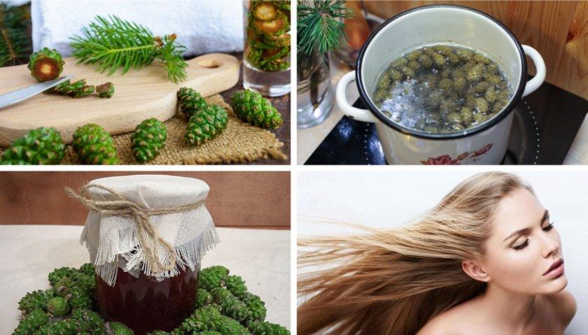 Приготовление отвара для волос и кожи