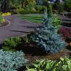 Бетонные уличные вазоны для цветов как важный элемент ландшафтного дизайна