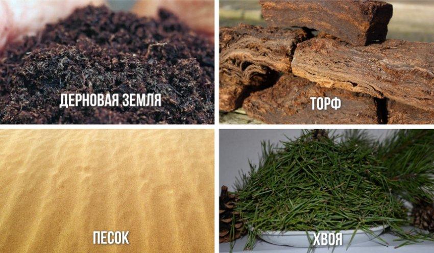 Материал для почвенной смеси