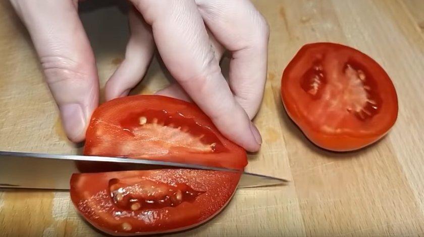 Подготовка томатов