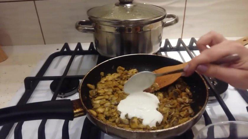 Как варить грибовницу из замороженных
