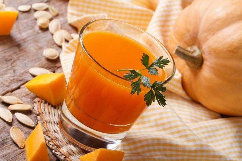 как приготовить сок тыквы польза и вред
