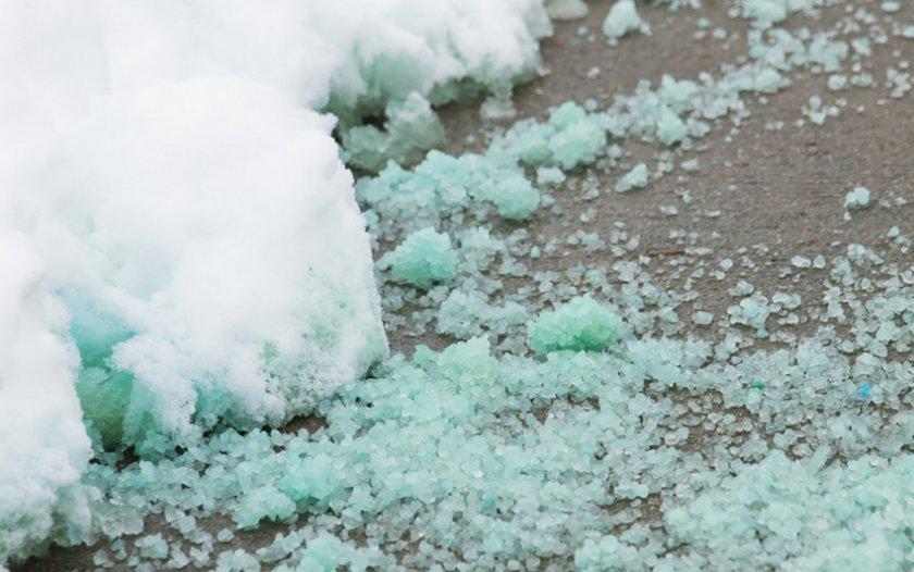 Реагенты против таяния льда