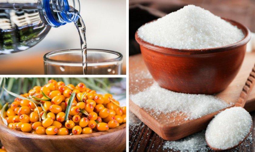 Ингредиенты для приготовления морса