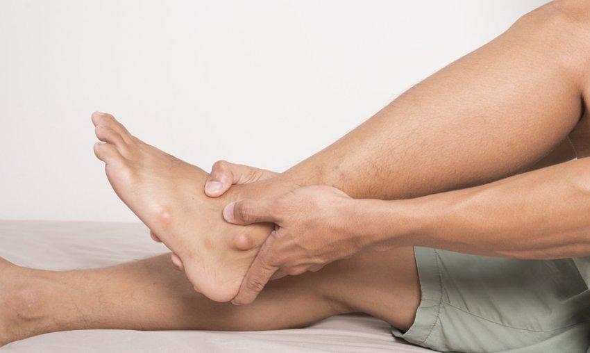 Пихтовое масло для массажа ноги