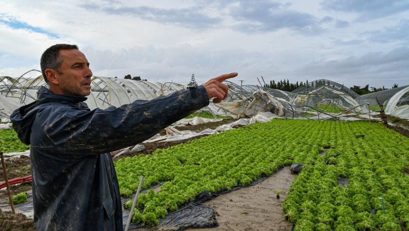 Торнадо и сильные ливни повредили урожай в Испании и на юге Франции