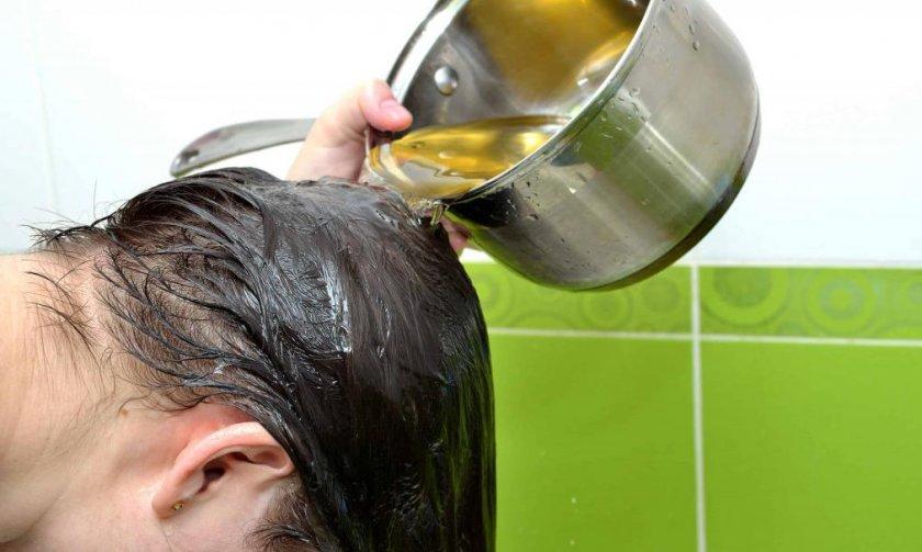 Ополаскивание волос настоем из лимонника