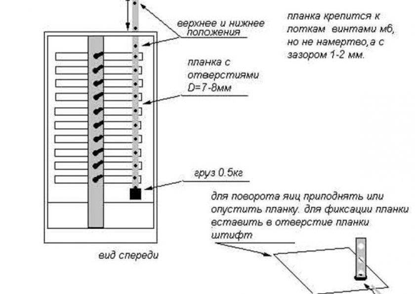 Полуавтоматический инкубатор