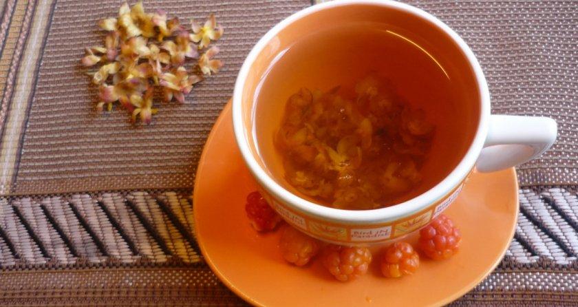 Чай из чашелистиков морошки