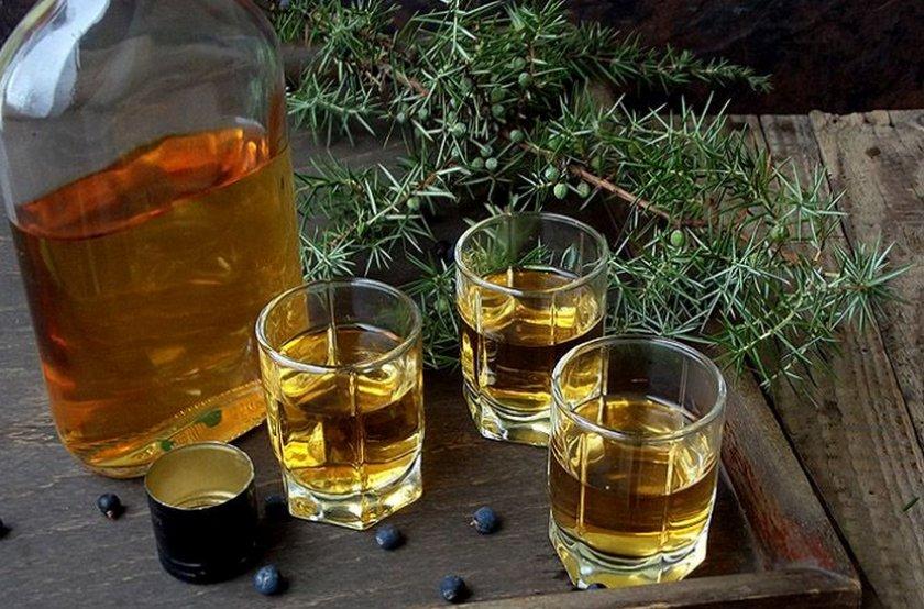 Алкоголь из можжевельника