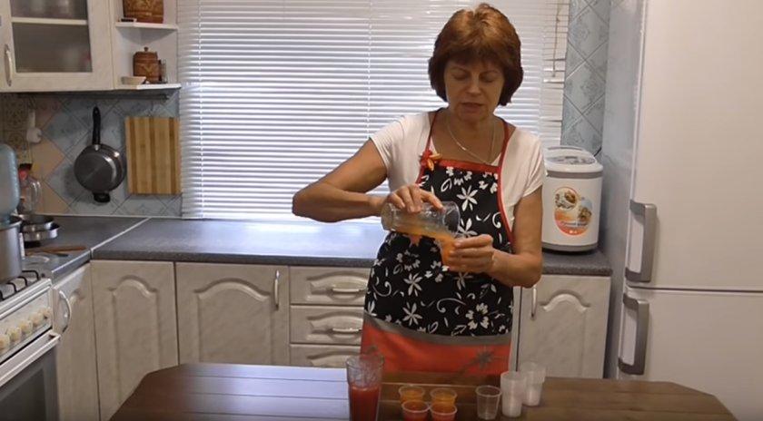 Заготовка томатного сока